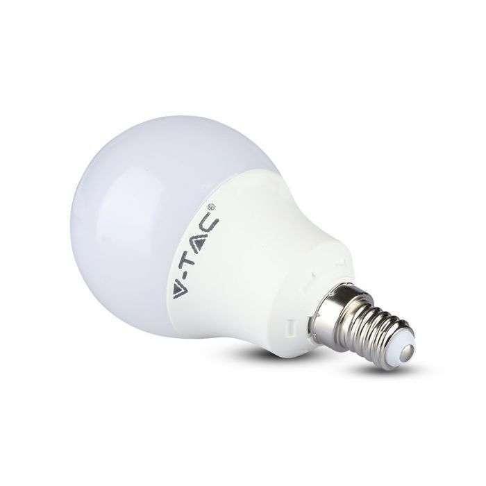 A58 LED lampa med SAMSUNG chip E14 9W 806Lm 3000K V tac